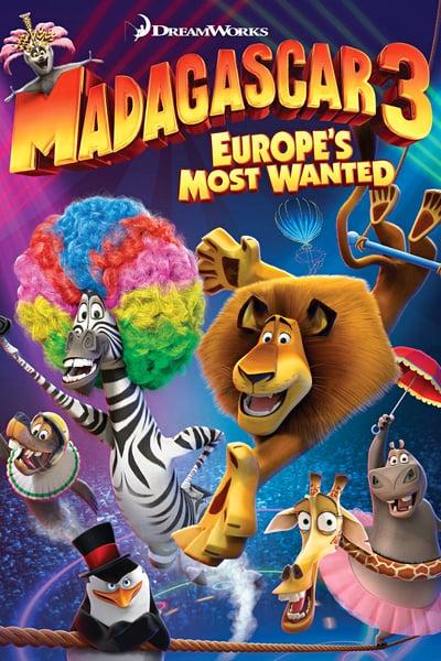 Madagascar 3: Los fugitivos