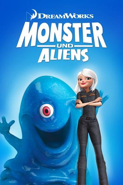 Monstruos vs Aliens